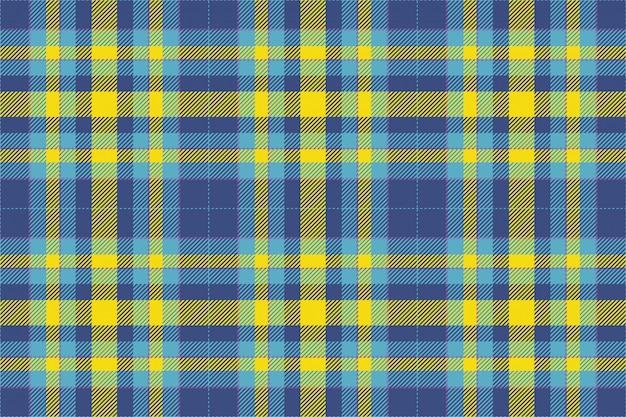 タータンスコットランドシームレスな格子縞パターン背景ファブリック、ヴィンテージチェック色の正方形の幾何学的なテクスチャー