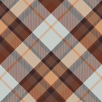 タータンスコットランドのシームレスな格子縞のパターン