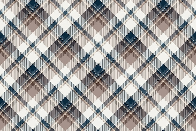 タータンスコットランドのシームレスな格子縞のパターンベクトル。