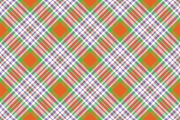 Тартан шотландия бесшовные плед шаблон вектор. ретро фон ткани. винтаж проверить цвет квадрат геометрические текстуры.