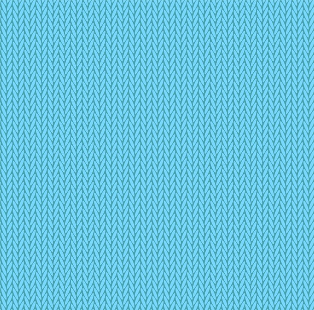 Вяжем текстуру светло-голубого цвета.