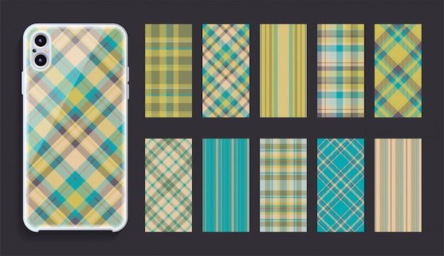 Смартфон дизайн обложки макет.
