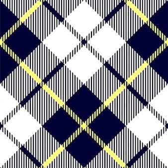 青赤チェック格子縞のテクスチャのシームレスパターン。