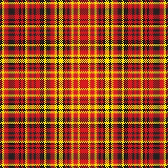 Тартан шотландия бесшовные плед.