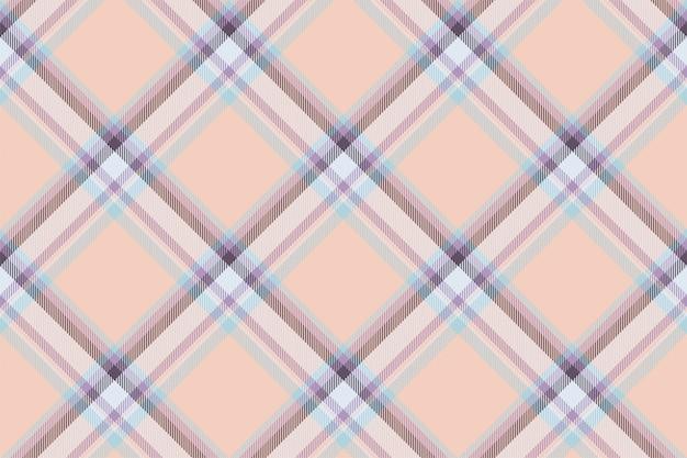 タータンスコットランドのシームレスな格子縞のパターン。