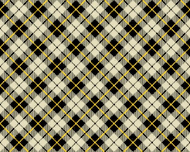 Черно-бежевая текстура ткани диагональный узор бесшовные
