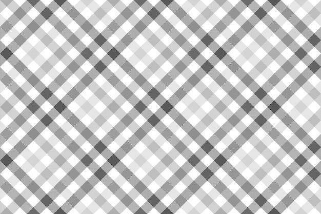 灰色の斜めチェックのシームレスパターン