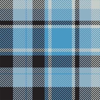 タータンスコットランドのシームレスな格子縞パターン生地背景