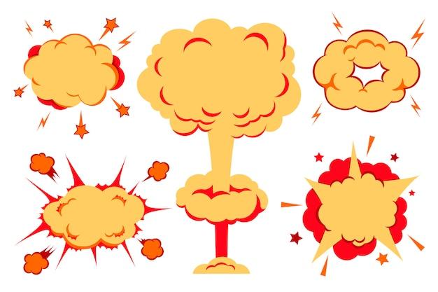 爆弾と爆風セット