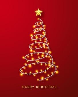 Светящиеся рождественские огни