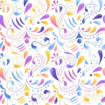 Бесшовные разноцветный узор градиента.