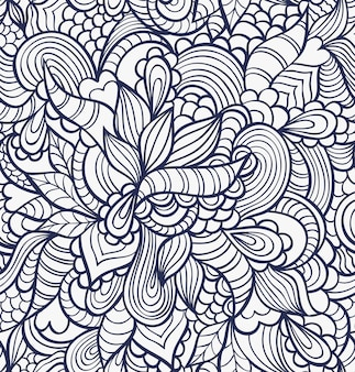 抽象的なシームレスパターンのベクトルイラスト