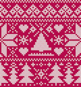 Рождество бесшовный фон