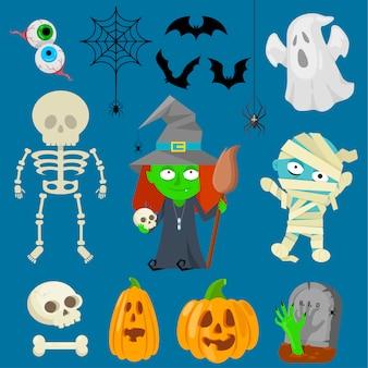Персонажи на хэллоуин