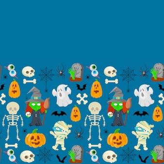 Паттерн на хэллоуин