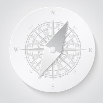 Бумажный компас