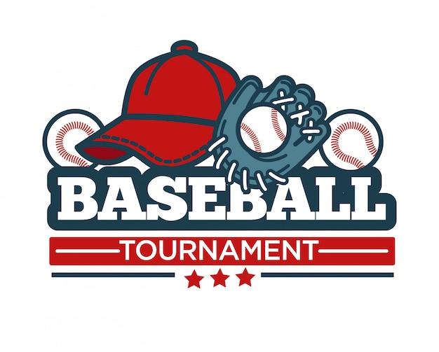 野球大会のロゴ