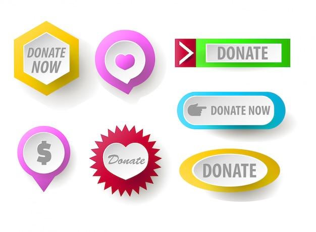 ボタンコレクションを寄付