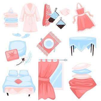 Домашний текстиль, изделия из хлопчатобумажной ткани