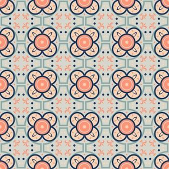 Бесшовные векторные шаблон с восточным орнаментом.