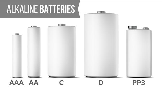 Щелочные батареи