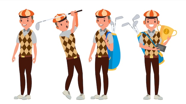プロゴルフ選手