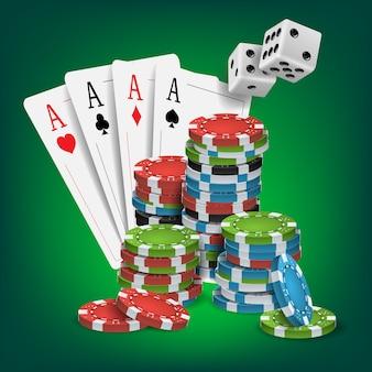 カジノポーカーデザイン
