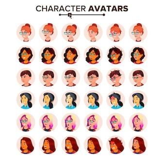 Аватар иконка женщина