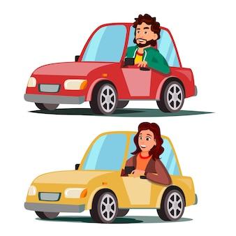 ドライバーの人々
