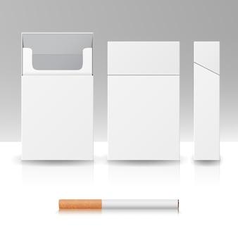 タバコの空白のパックパッケージボックス