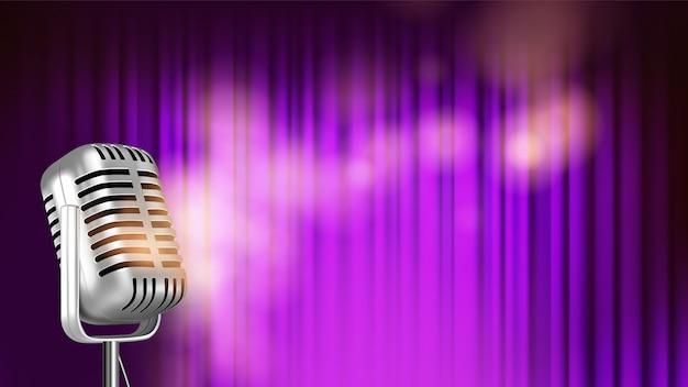 音楽の明るいバナーテンプレート