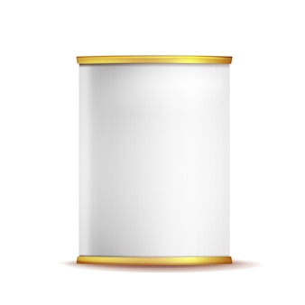 ブリキ箱缶テンプレート