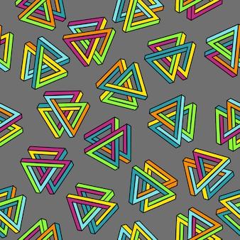 幾何学的なシームレスな抽象的な背景