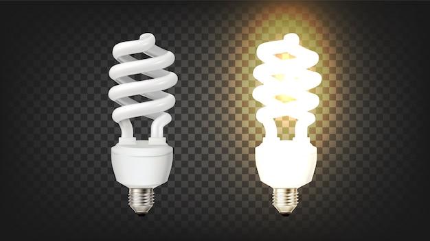 Компактная люминесцентная лампа типа штопор