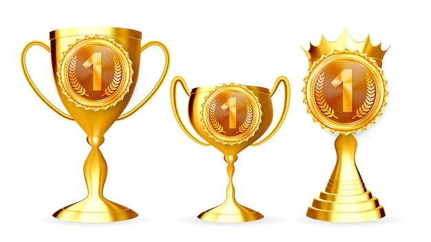 Набор для сбора золотых кубков чемпионов