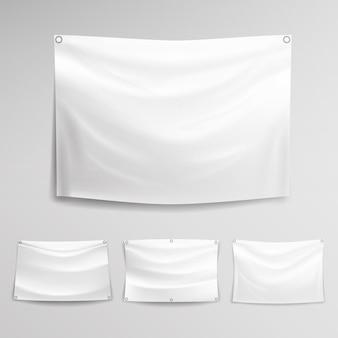 Белый баннер