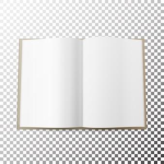 Открытый журнал распространен пустой вектор