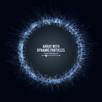 ダイナミクス粒子を含む配列