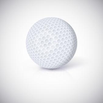 Мяч для гольфа.