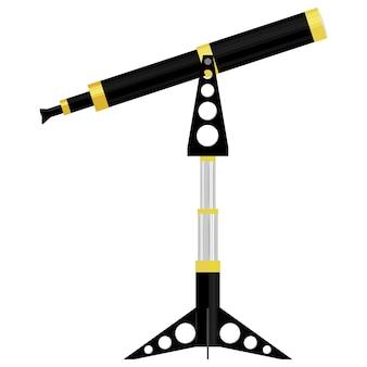 望遠鏡のベクトルイラスト