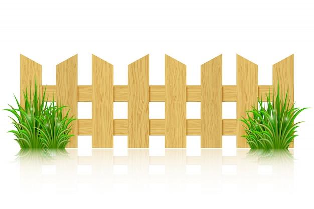 木製フェンス