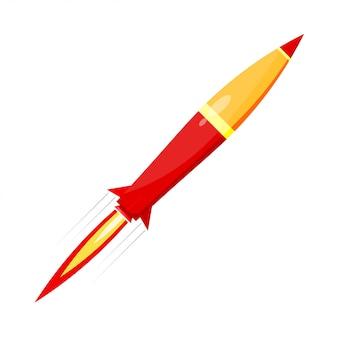 赤いロケットの戦闘