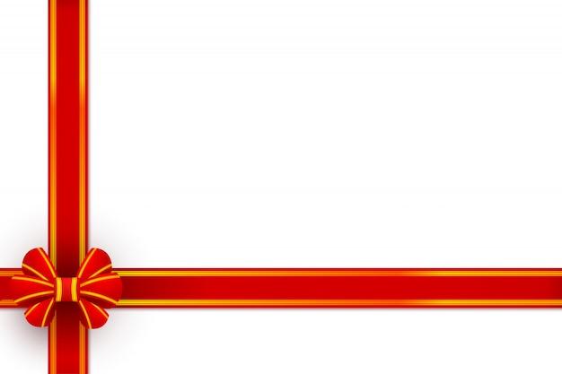 Красный бант подарок