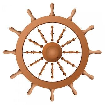 船のホイール