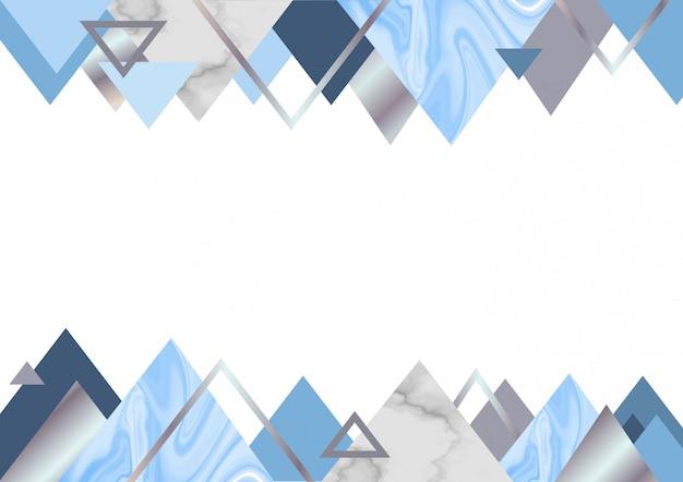 大理石の青い背景