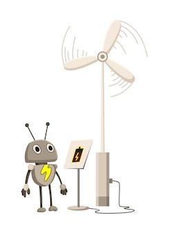 Дизайн природных ресурсов. иллюстрация национального достояния высоких технологий. иллюстрация альтернативной энергетической промышленности