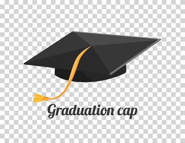 卒業帽または帽子