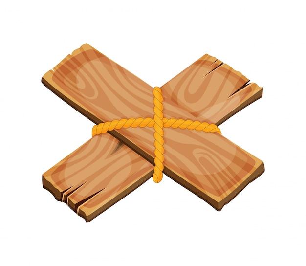 Шильдик шаржа деревянный пустой, знамя и лента, западный комплект вектора знака. деревянное знамя и винтажная иллюстрация планки рамки.