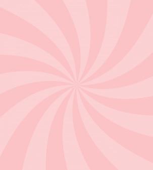 甘いお菓子の渦巻きのベクトルの背景。