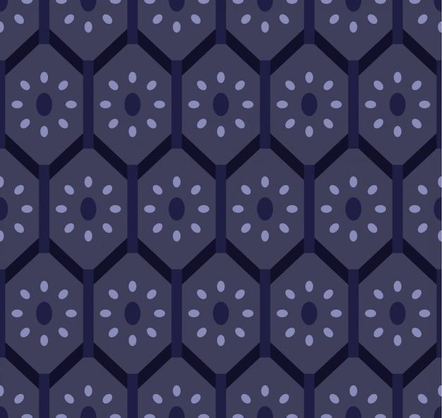 シンプルモダンな幾何学的なシームレスパターン。